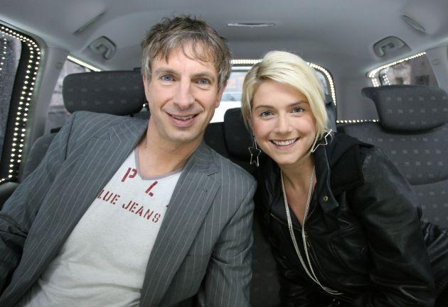 """""""Ich guck' das so gern, aber ich wollte nie hier drin sitzen!"""" - Jeanette Biedermann im """"Promi-Quiz Taxi"""" am 25. Juni 2007 um 20.15 Uhr bei kabel eins"""