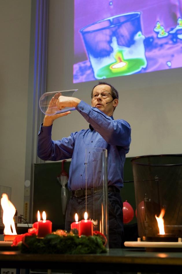Physikprofessor Justus Notholt / Foto: Universität Bremen