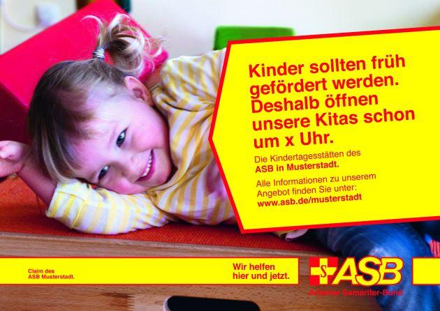 Starker Auftritt / Die neue Kommunikationslinie des ASB (mit Bild)