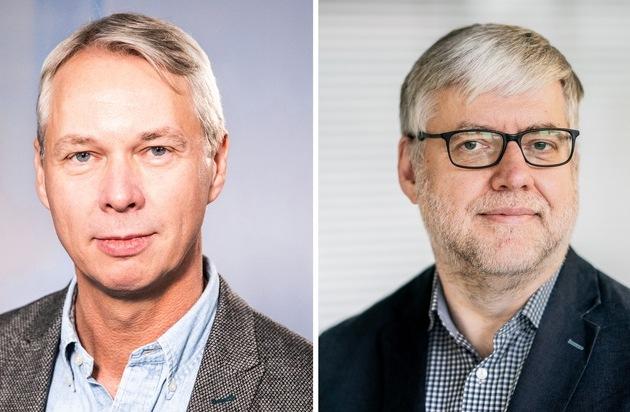 Frank Rumpf zukünftig alleiniger Geschäftsführer von dpa-infocom und dpa-infografik / Christoph Dernbach wird Chefkorrespondent Digitales bei dpa