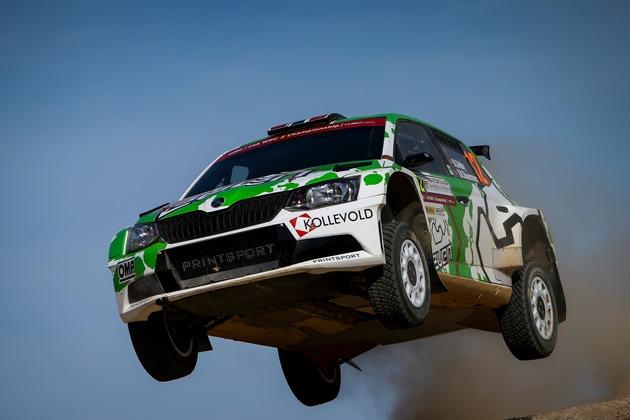 Rallye Finnland: 14 SKODA FABIA R5 zum neunten Lauf der FIA Rallye-Weltmeisterschaft gemeldet