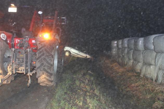 POL-COE: Havixbeck, Walingen/ Verkehrsunfall mit Personenschaden