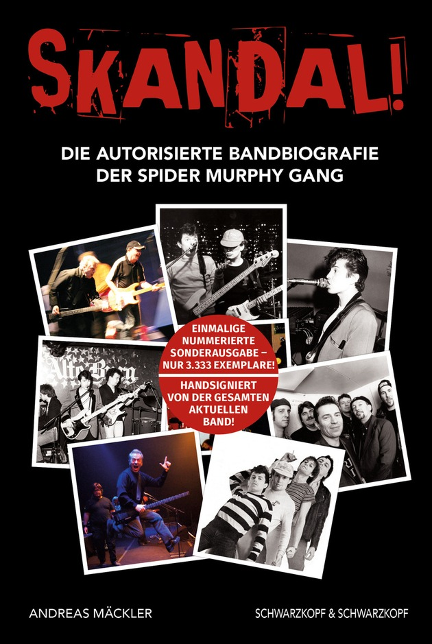 SKANDAL - SPIDER MURPHY GANG - Cover - 2D