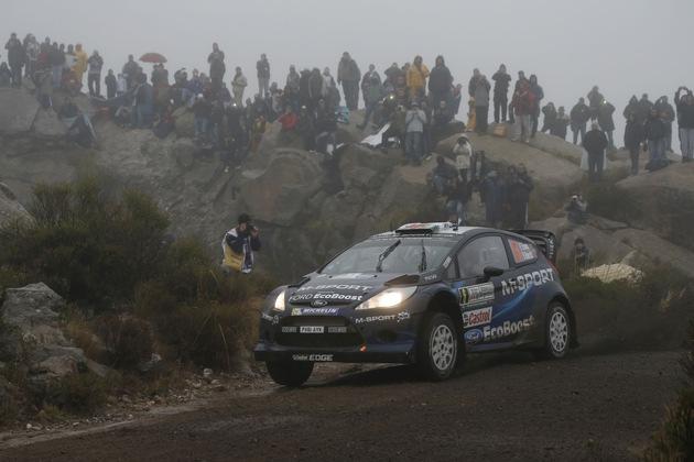 """2014 World Rally Championship / Round 05 / Rally Argentina // Worldwide Copyright: M-Sport/McKlein / Weiterer Text über ots und www.presseportal.de/nr/6955 / Die Verwendung dieses Bildes ist für redaktionelle Zwecke honorarfrei. Veröffentlichung bitte unter Quellenangabe: """"obs/Ford-Werke GmbH"""""""