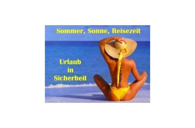 POL-SE: Bad Segeberg, Rathaus   / Informationsveranstaltung zum Thema Urlaub und Einbruch