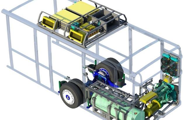 Patentierter Antrieb macht kommunalen Nahverkehr CO2 neutral / Das Start-Up CM Fluids hat ein Antriebskonzept entwickelt, mit dem sich Nutzfahrzeuge zu klimaneutralen Verkehrsmitteln umrüsten lassen