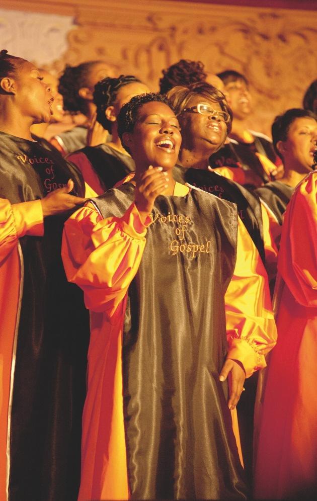 Voices Of Gospel Schweizer Tournee 2011: Einmalig - Packend - Authentisch