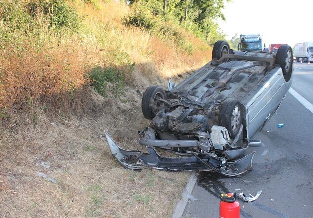 Unfallfoto A2, Bild 2