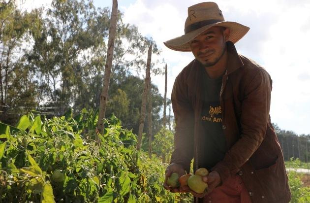 Corona-Maßnahmen stürzen viele Menschen in Lateinamerika in Hunger, Angst und noch größere Armut - Eigeninitiative und Selbstversorgung in den nph-Kinderdörfern in Lateinamerika