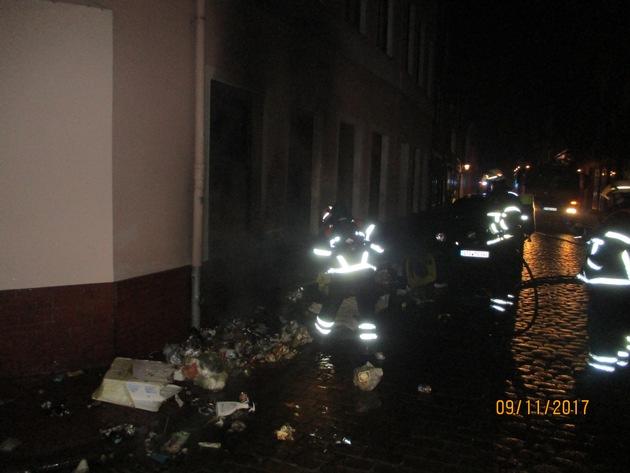 Brandstelle Bungenstraße 1