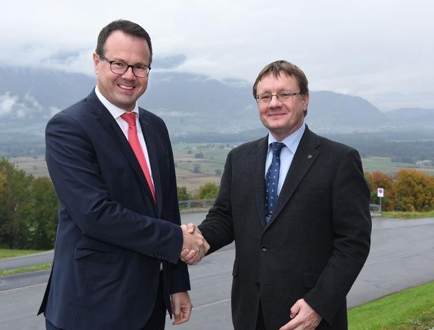 ikr: Besuch von Oberzolldirektor Christian Bock in Liechtenstein