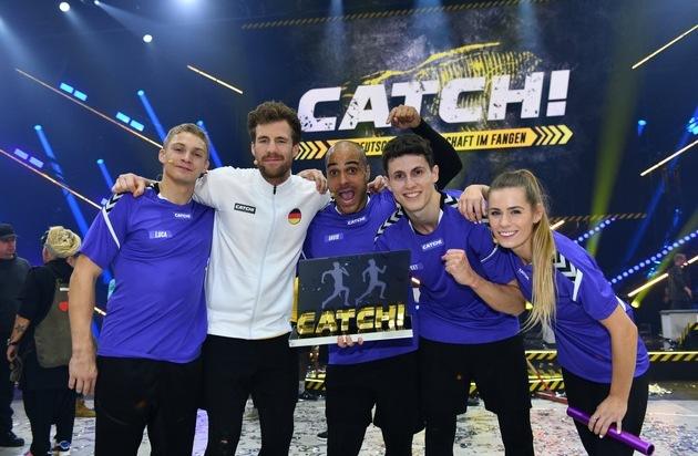 """Luke Mockridge Für Spielfreude Mit Dem Grimme Preis: Perfekter Showauftakt Für SAT.1 In 2020: """"CATCH!"""" Mit"""