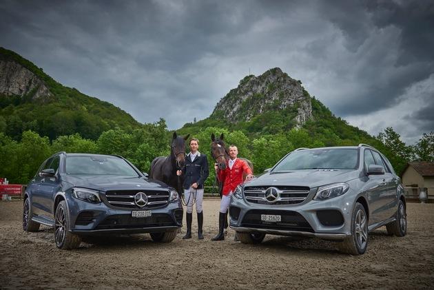 Pius Schwizer und Martin Fuchs fahren nachhaltig mit Plug-In Hybrid