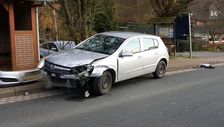 POL-HM: Zwei Verletzte nach Kollision in Rohdental