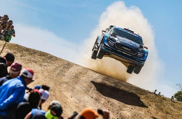 Ford Fiesta WRC-Pilot Teemu Suninen fährt auf Sizilien mit Platz 2 sein bestes Karriere-Ergebnis ein