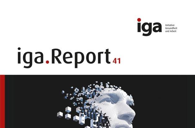 iga.Report 41: Wege aus der Informationsflut - so hat die Arbeitszufriedenheit in der digitalen Arbeitswelt eine Chance