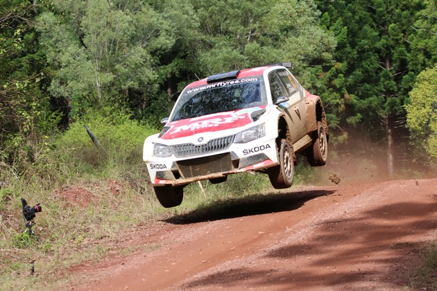 Traumhaftes Rallye-Wochenende: SKODA jubelt auch in Australien