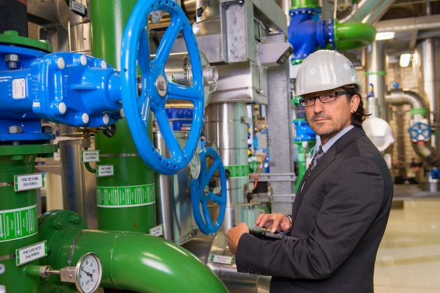 DQS GmbH bietet ab sofort Bereitschaftsbewertung für den sicheren Übergang an / Energiemanagementsysteme nach ISO 50001 führen messbar zu einer effizienteren Energienutzung. Bild freigegeben für die Verwendung in Print- und Onlinemedien (Bildnachweis: ©DQS GmbH, Fotograf: Martin Joppen, Frankfurt a.M.) / Weiterer Text über ots und www.presseportal.de/nr/104526