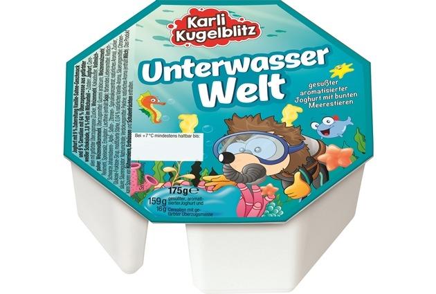 Karli Kugelblitz Joghurt + Knusper Unterwasser Welt (© Netto-Marken-Discount)