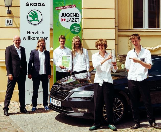 SKODA machte die Bundesbegegnung 'Jugend jazzt' mobil