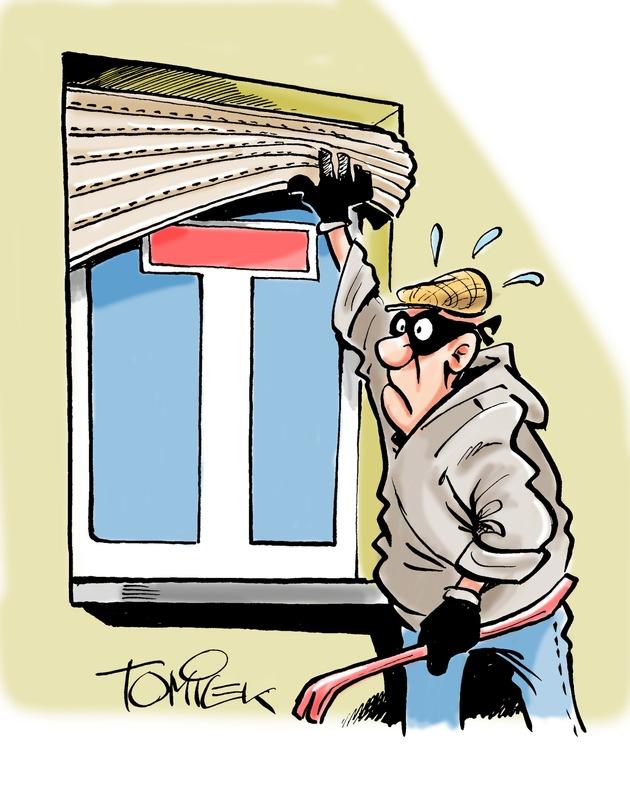 Symbolbild: Gute Objektsicherung - Sackgasse für Einbrecher !