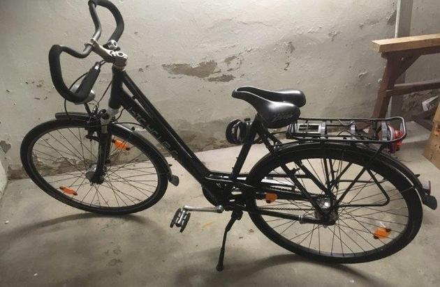 POL-SO: Anröchte - Wer kennt dieses Fahrrad?
