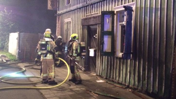 Einsatzreiche Nacht für die Stolberger Feuerwehr