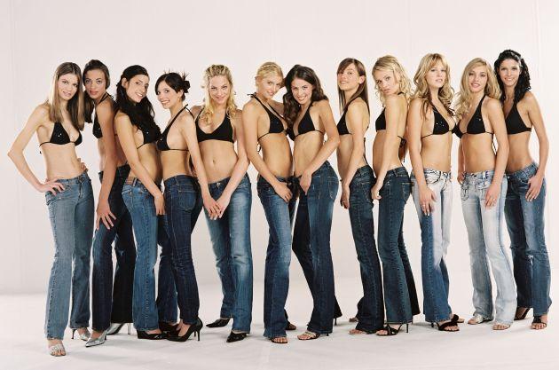 """REDAKTIONELLE SPERRFRIST MITTWOCH, 25.01.2006, 21.15 UHR!  Heidi Klum: Das sind meine zwölf Favoriten für """"Germany's next Topmodel"""" Zwölf junge Frauen haben es geschafft! Sie sind in der nächsten Runde von """"Germany's next Topmodel"""". Foto: © ProSieben/Paul Schirnhofer Motiv: Gruppe v.l.n.r.: Celine, Charlotte, Jennifer, Rahel, Andrea, Lena G., Lena M., Anne, Janina, Yvonne, Luise, Micaela Dieses Bild darf bis Ende März 2006 zur einmaligen Verwendung honorarfrei für redaktionelle Zwecke verwendet werden. Spätere Veröffentlichungen sind nicht möglich. Keine Online . Verwendung nur mit Copyrightvermerk. Die Fotos dürfen nicht gespeichert werden.  Die Fotos dürfen nicht an Dritte weitergeleitet werden. Bei Fragen: 089/9507-1173"""