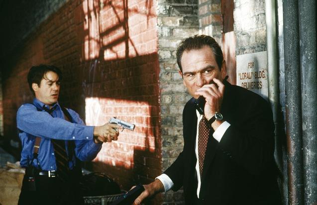 """Tommy Lee Jones und Robert Downey Jr. sind """"Auf der Jagd"""""""