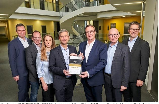 Viega mit RECRUITING EXCELLENCE Award ausgezeichnet / Jobware vergibt Gütesiegel an Unternehmen