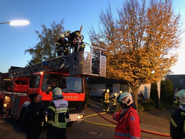 Drehleiter der Feuerwehr Bönningstedt