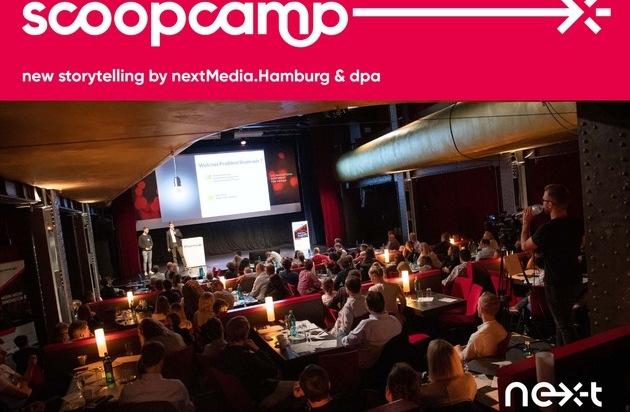 Save the Date - scoopcamp 2020: Internationale Größen der Medien- und Digitalbranche kommen nach Hamburg