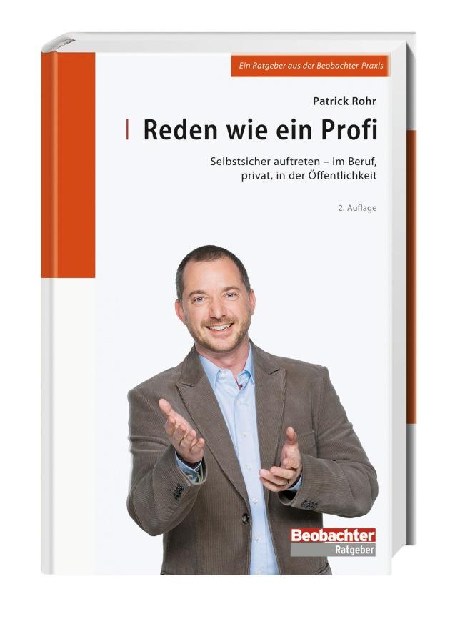 Beobachter-Buchverlag : Patrick Rohr erobert die Bestsellerlisten
