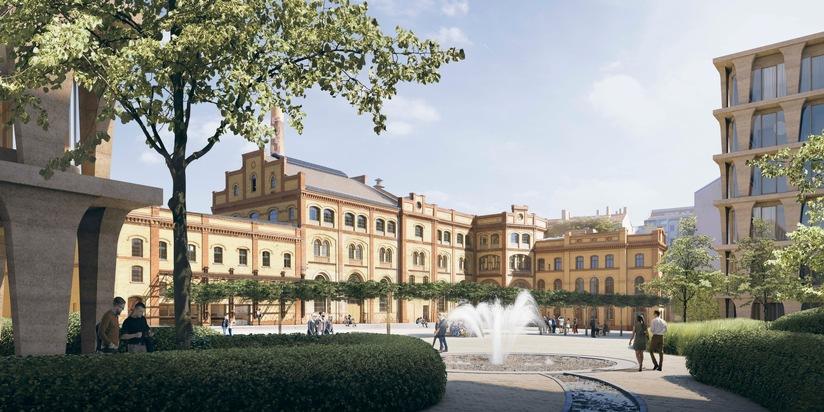 Bötzow Quartier nach finaler Fertigstellung in 2022  Bildquelle DCALaborgh - Bild 2
