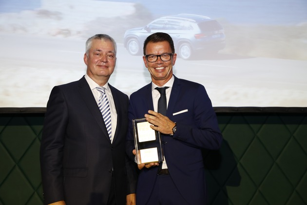 Neuer SKODA KODIAQ ist 'Auto Test Sieger 2017'