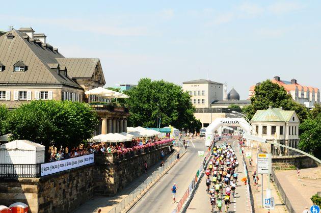 SKODA ist auch 2014 Namensgeber und Sponsor des SKODA Velorace Dresden