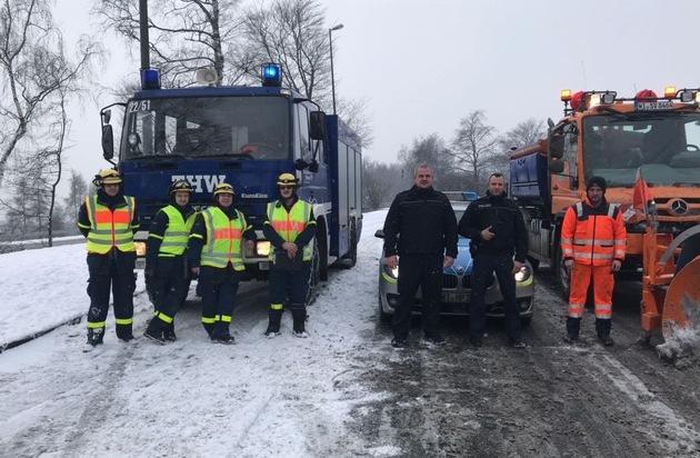 POL-OH: Morgendliches Schneechaos auf Osthessens Autobahnen (Bilder ...