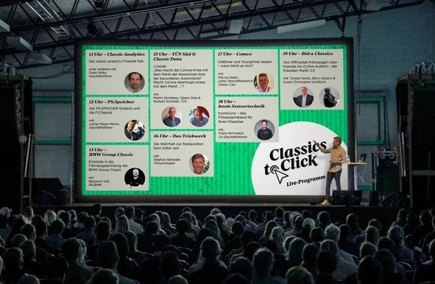 19. Juni startet die Onlinemesse Classics to Click / TV-Star Helge Thomsen (RTL2) zeigt live seine Oldie-Werkstatt
