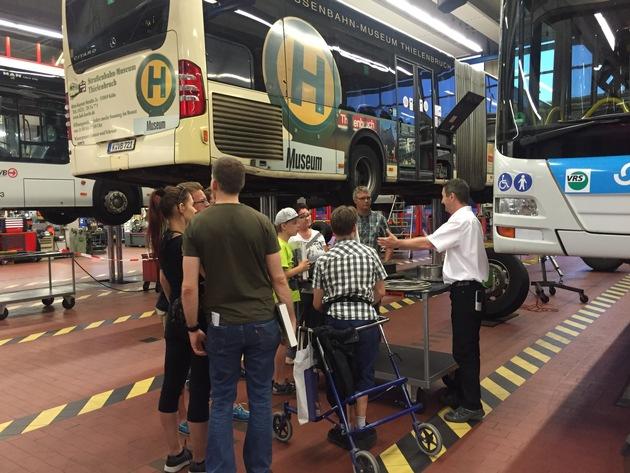 Bildangebot / Nacht der Technik / Werkstatt Bus Kfz