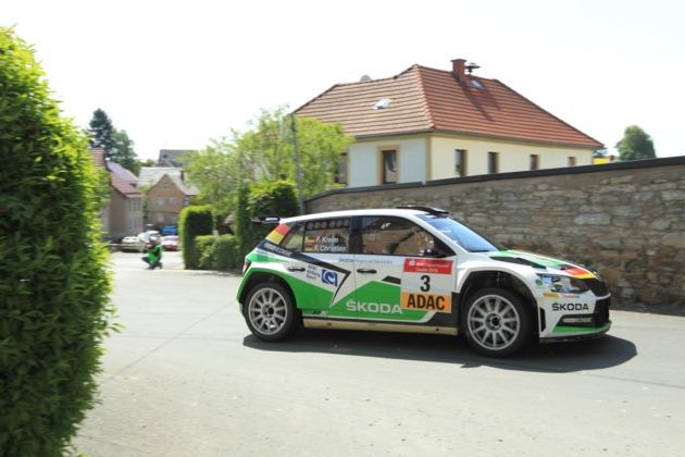 Zweiter Start im neuen SKODA Fabia R5: Fabian Kreim visiert Podestplatz an