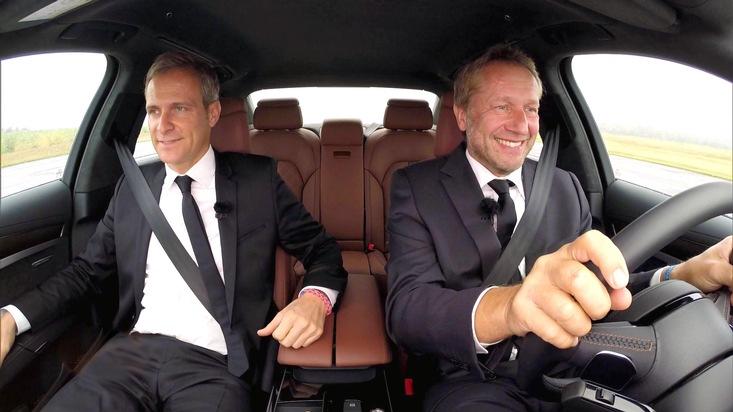 """""""GRIP - Das Motormagazin"""": Matthias Malmedie und Niki Schelle suchen das perfekte """"The Transporter""""-Auto"""