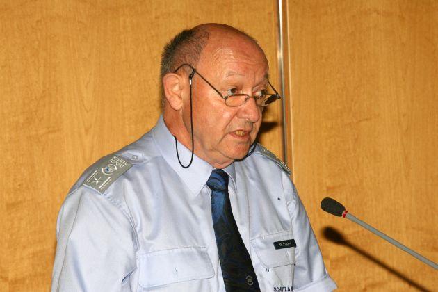 Referent Walter Egger, Präsident des CTIF