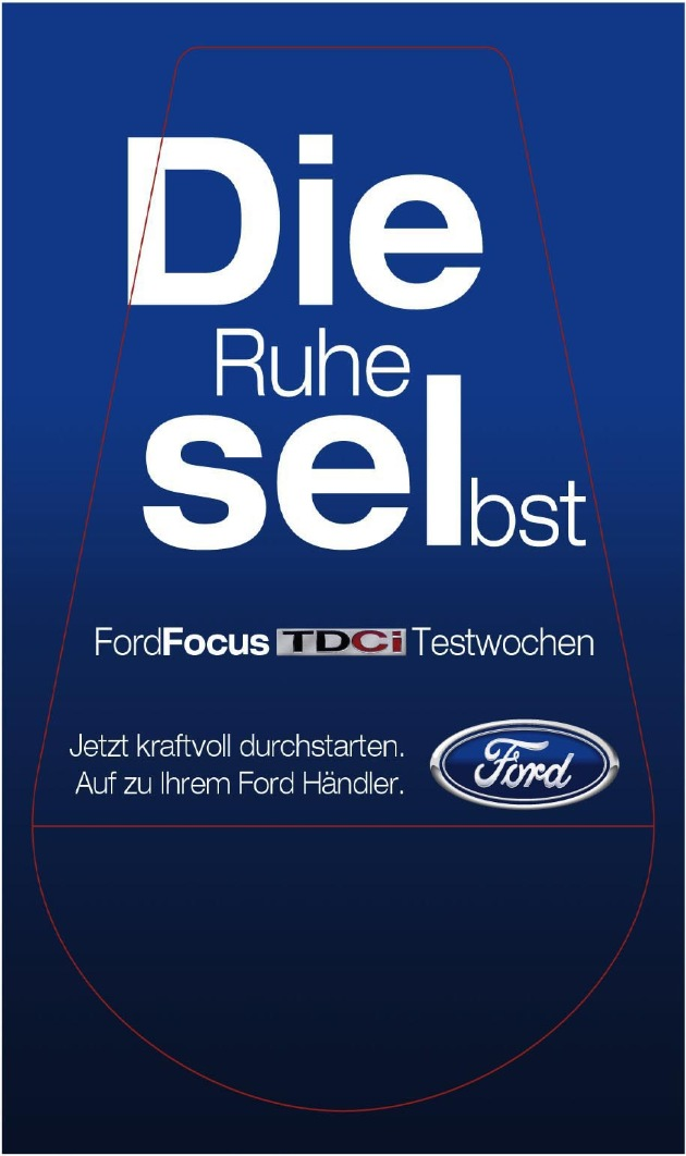 Die Ford-Werke AG hat eine Werbekampagne für den neuen Ford Focus TDCi mit Common Rail Dieselmotor kurzfristig ausgesetzt. Der auf den Griffen von Zapfpistolen angebrachte Schriftzug hatte bei einigen wenigen Autofahrern zu Mißverständnissen geführt. Deshalb ist dieses Motiv mittlerweile weitestgehend entfernt worden.