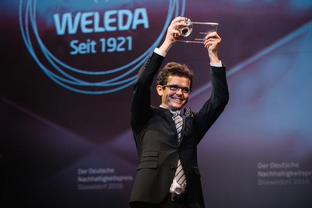 Schweizer Weleda AG gewinnt Deutschen Nachhaltigkeitspreis