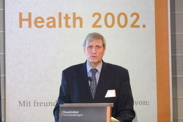 "6. Handelsblatt Gesundheitskongress ""Health 2002"" in Berlin (29. - 30. November 2001)"