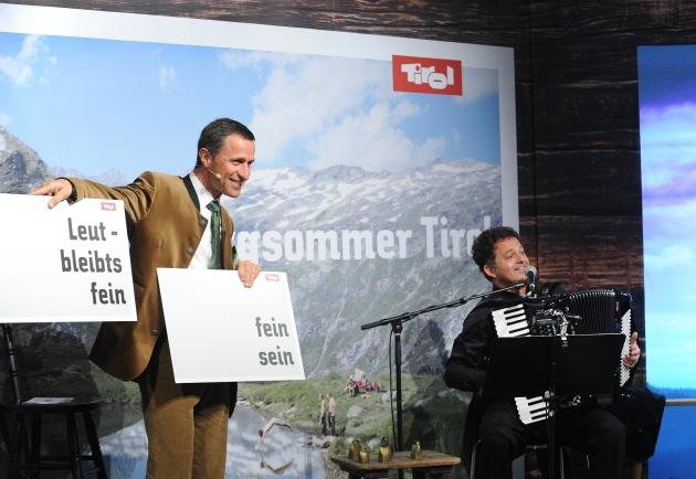 Bergsommer Tirol - Die Tirol Werbung startet ihre neue Kampagne offiziell auf der ITB in Berlin - BILD