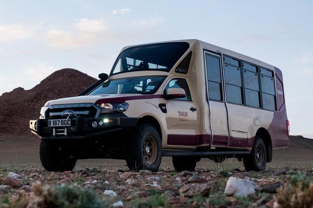 Setzt neue Maßstäbe im Safari-Tourismus: Der TARUK Safari Tourer.