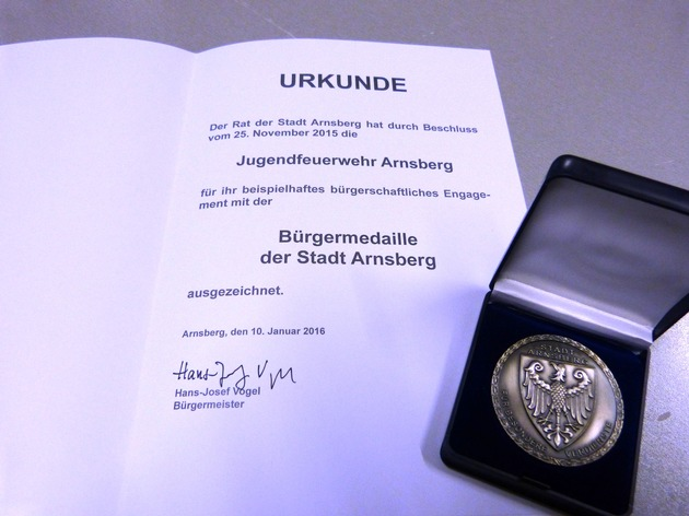 FW-AR: Holger Weber ist neuer Stadtjugendfeuerwehrwart in Arnsberg