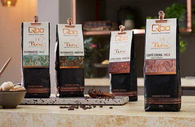 Qbo Röstkaffee Premium Kooperativen-Kaffee aus Peru