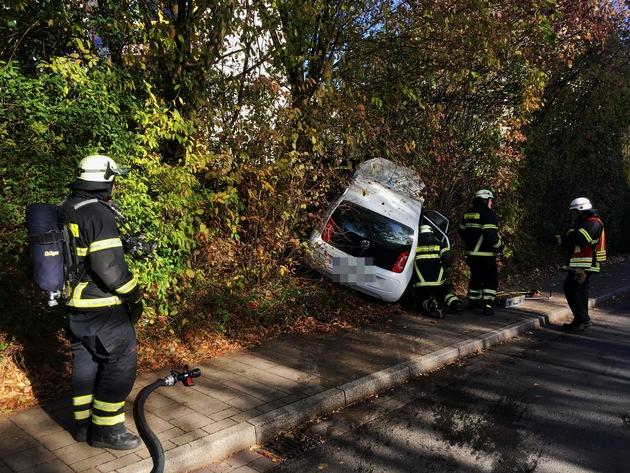 Verkehrsunfall auf dem Westender Weg